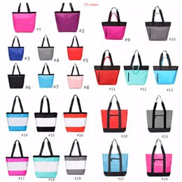China 24 Clors Pink Grey Handbag Shoulder Bag Classic Portable Shopping Bags Fashion Multifunction Pouch for Women Ladies Tote cheap portable multifunction bag pouch suppliers