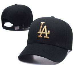 La Snapback Caps Australia - 2019 classic Golf Curved Visor hats Los Angeles Kings Vintage Snapback cap Men's Sport polo dad hat high quality LA Baseball Adjustable Caps