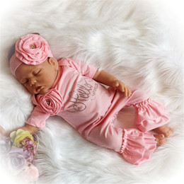 Wholesale newborn baby girls short sleeve pink big flower jumpsuit romper headband set summer infant bodysuit one sies