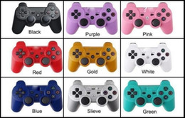 $enCountryForm.capitalKeyWord Australia - wholesale Bluetooth Wireless ps3 Game Controller for sony Dualshock Playstation 3 PS3 Console Video Games Joystick Gamepad with Retail Box