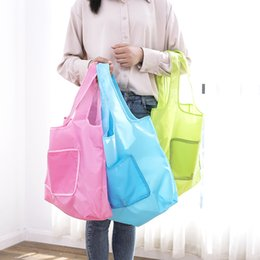 dbdc148814 Wholesale pink reusable shopping bag online shopping - Reusable Foldable  Shopping Bags Thickening Tuba Portable Oxford
