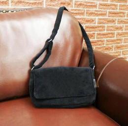 Cosmetic Bag Logo Australia - Hot!2019 classic Brand velvet fashion black cosmetic bag famous logo luxury party bag flannel shoulder bag velvet quality handbag