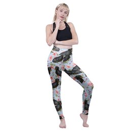 $enCountryForm.capitalKeyWord Australia - Women High Waist Leggings Sitting Floral Dachshunds 3D Digital Full Printed Sport Jeggings Lady Runner Trousers Girl Casual Pants (Y601907)