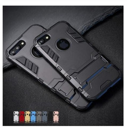 $enCountryForm.capitalKeyWord Canada - Good quality Luxury Stand Armor Phone Holder Case For iPhone 7 8 6 6S Plus X S XS Hybrid TPU+Hard PC ShockProof Back Cover for iphone 5 5S