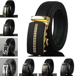 $enCountryForm.capitalKeyWord NZ - Fashion Automatic Buckle Business Belts Luxury Cowhide Waistbands Jeans Cow Waist Straps Mens Womens Fashions Leisure Belts