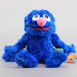"$enCountryForm.capitalKeyWord NZ - Animals Stuffed Plush Animals High Quality Sesame Street Muppet Toys Grover Plush Dolls Cute Hand Puppet Soft Stuffed Dolls 12\"""