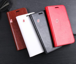 Chinese  Crazy Horse Flip Wallet Leather Pouch Case For OPPO A7 AX7 Elephone A5 Lite Stand TPU ID Card Holder Photo Frame Mad Skin Cover Luxury 50pcs manufacturers