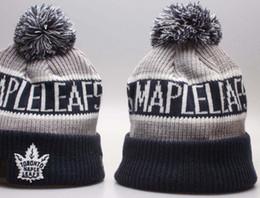 $enCountryForm.capitalKeyWord NZ - Sport Knit hat Maple leaf Beanie Football Sideline Cold Weather hat Fashion beanies winter Warm Knitted Wool Skull Cap 00