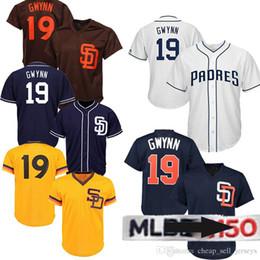 Machado jersey online shopping - 19 Tony Gwynn jerseys Wil Meyers San Diego Manny Machado Padres baseball jersey th patch