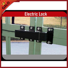 gate openers Australia - 24VDC OUTDOOR WATERPROOF Electric Lock drop bolt for Automatic Swing Gate DOOR Opener Operator