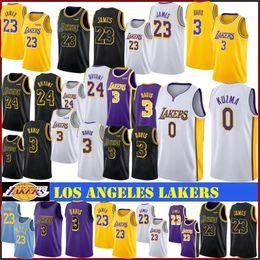 Kobe jersey 24 online shopping - NCAA LeBron James Men Basketball Jersey Anthony Davis Bryant Kobe Kyle Kuzma Stitched Logo New