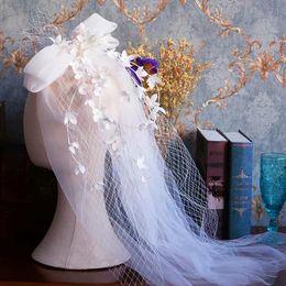 $enCountryForm.capitalKeyWord Australia - High Quality Bridal Short Wedding Veill Brides Hair Accessory Wedding Dress Accessory White Hairbands