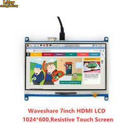 lcd screen 7inch Australia - 7inch HDMI LCD 1024 * 600 Resistive Touch Screen LCD Display Tablet,HDMI interface, for Raspberry Pi