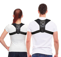 Dropshipping Posture Corrector Clavicle Spine Back Shoulder Lumbar Brace Support Belt Posture Correction Prevents Slouching