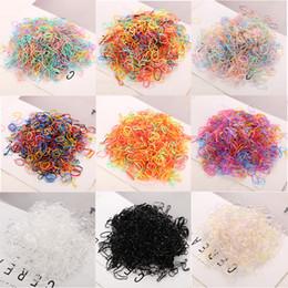 $enCountryForm.capitalKeyWord Australia - Fashion Elastics Hair Bands About 1000 Pcs bag Child Baby Tpu Hair Holders Rubber Bands Girl's Tie Gum Hair Accessories