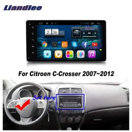 touch screen gps system UK - Android HD Touch Screen For C-Crosser 2007 2008 2009 2010 2011 2012 Stereo Radio Multimedia Player GPS Navigation System