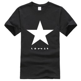 $enCountryForm.capitalKeyWord Australia - Hot summer 2019 men's T-shirts David Bowie heroes black star logo fashion T-shirt for men hip hop t shirt men sportswear top tee