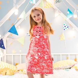 f0704bfe00e6c Little Children's Sleeveless Dresses for Girls Summer Cotton Applique  Quality Princess Jersey Kids Clothes Cute Girl Dress