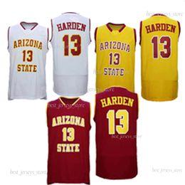 12 штата Аризона Солнце дьяволы NCAA в 33 Брайант 13 Харден баскетбол колледжа трикотажные изделия 2019 лучшие продажи-Джерси 69631 на Распродаже