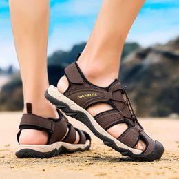 $enCountryForm.capitalKeyWord NZ - Men Sandals for 2019 Summer Beach Casual Shoes Cheap Male Sandals Leisure Beach Men Shoes Flat Large Size#627g30