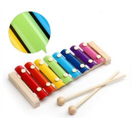 $enCountryForm.capitalKeyWord Australia - Montessori Toys Children Early Educational Learning Puzzle Wooden Toys Xylophone Musical Toys Wisdom Music Instrument 8 Tone