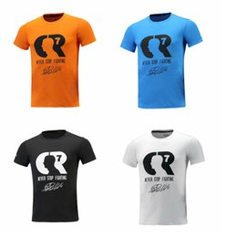 T Shirt Cotton Sport Fashion Australia - Ronaldo 7 fans fashion T-shirt short-sleeved cotton multi-color breathable sweat-absorbent high-quality sports outdoor Jersey size S-2XL