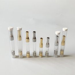 Discount vape ceramic wick - Wholesale G2 Oil Cartridge 0.5ml 1ml Ceramic Glass Thick Oil Vape Cartridges Wick Coil Disposable vape Tank For 510 Thre