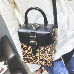 $enCountryForm.capitalKeyWord NZ - New style women's Leopard print handbag Casual cross-body bag with one shoulder