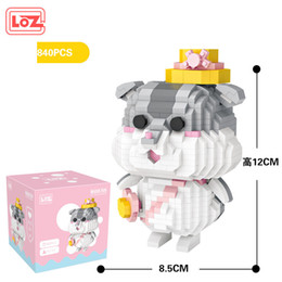 toy clown NZ - LOZ Cute Hamster, McDon Clown Doll Building Blocks, Mini DIY Assemble Developmental Toy, Ornament for Xmas Kid Birthday Gift, Collecting 2-1