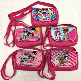 $enCountryForm.capitalKeyWord UK - LOL backpack kids toys lol dolls storage bags Birthday Party Favor for Girls Gift Bag receive package Swimming beach bag
