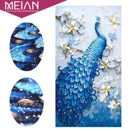 $enCountryForm.capitalKeyWord Australia - Meian,special Shaped,diamond Embroidery,animal,peacock,full,rhinestone,5d,diy Diamond Painting,cross Stitch,diamond Mosaic,decor J190711