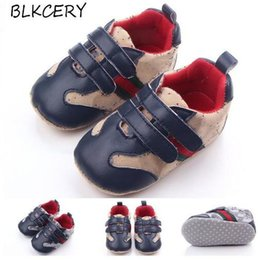 $enCountryForm.capitalKeyWord Australia - Infant Leather Baby Shoes for Girls Shoes Moccasins Hook-loop Toddler Designer Newborn Brand Boys Shoes Slippers First Walkers