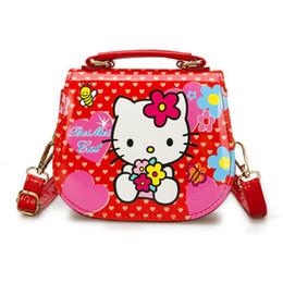 1fdce63b1 New Fashion Children Cartoon Hello Kitty Mini Handbag Girls Cute Shoulder  Bag Kids Tote Girls Messenger Bag Female PU