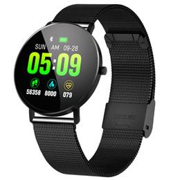 Step tracker watch online shopping - New Smart Watch F25 Smart Bracelet Full Screen Contact GPS Tracker Heart Rate Blood Pressure Step Bracelet Sports Waterpro
