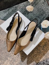 $enCountryForm.capitalKeyWord Australia - 2019 new arriaval Designer women flat party fashion girls sexy pointed shoes Dance wedding shoes Double straps sandals women shoes 007