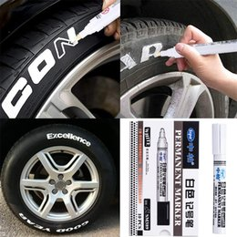 sale pens Australia - CARPRIE 2019 Hot Sale 10Pcs Waterproof Permanent Paint Marker Pen For Car Tyre Tire Tread Rubber Metal Car Washing Liquid 9611
