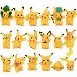 Gift sell online shopping - Best selling pc Detective Pikachu pvc dolls Pikachu toys cartoon animals toys Furnishing articles decoration best Gifts