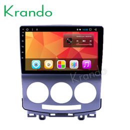 "$enCountryForm.capitalKeyWord Australia - Krando Android 8.1 9"" IPS Touch screen car Multmedia player for Mazda 5 2005-2010 radio player video gps navigation wifi BT car dvd KD-MA550"