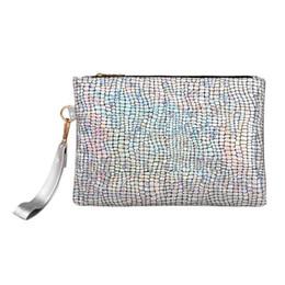 Designer Hand Clutches UK - Women Crossbody hand Bag Fashion Shining Laser Stone PU Handbag Purse Clutch Designer Square Ladies Messenger Bags Shoulder Bags