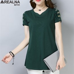 Lace Splice T Shirt NZ - Summer Funny Shining T Shirts Short Sleeve Lace Splice T Shirt Women Tops Plus Size Casual Tee Shirt Femme Camisetas Mujer M-4xl Y19042501