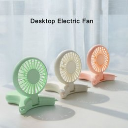 $enCountryForm.capitalKeyWord Australia - 3 in 1 2000mAh USB Portable Hands-free Neck Hanging Fan Rechargeable Air Cooler Sports 3 gears Hand Held Desktop Electric Fan for Trave