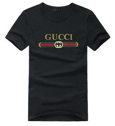Venta al por mayor de De calidad superior Nueva marca de moda de algodón streetwear camiseta Casual moda camiseta hombres manga corta camisetas camiseta superior impresa happy times