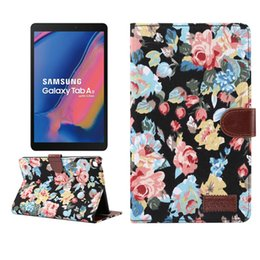 $enCountryForm.capitalKeyWord Australia - Fabric Leather Case with Wallet Slot for Samsung Galaxy Tab A 8.0 2019 P200 P205 with S Pen Tablet+Stylus
