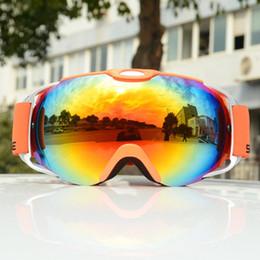 95d3139f1 2019 Óculos de Esqui Robesbon DoubleLens Anti-nevoeiro snowrbroad windbreak  à prova d 'água não COPOZZ Esférico óculos de esqui para mulheres dos homens