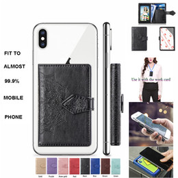 $enCountryForm.capitalKeyWord NZ - Pasting Mandala Folower PU Leather Wallet Case Cover to Back Side of Almost All Mobile Phone with Visible Photo Frame Size 10cmx5.7cm