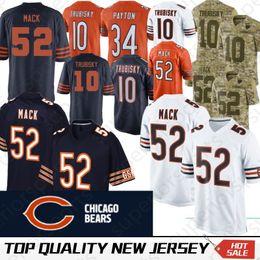 Chicago 52 Khalil Mack Bears jersey 17 nthony Miller 10 Mitchell Trubisky  58 Roquan Smith 24 Howard 29 Tarik Cohen 54 Brian Urlacher 082e7b1e1