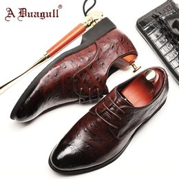 $enCountryForm.capitalKeyWord Australia - Business Leisure Man High Time Rubber Sole England Ostrich Grain Chalaza Male Shoe Enchanting2019 Affairs Correct Dress Leather Shoes You