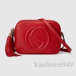 Toptan satış GUCCI Disko çanta Tasarımcısı Çanta yüksek kaliteli LuxUry Çanta Ünlü Markalar Crossbody Moda Orijinal Dana hakiki deri Sho