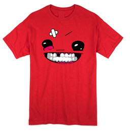 beb717272962 Super meat boy T shirt and Hoodie MEATBOY xbox360 indie games steam PC  Funny free shipping Unisex Tshirt top