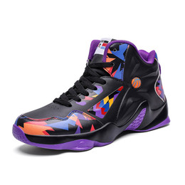 lightweight basketball shoes Australia - Sport Running shoes rubber bottom sneaker youth trend sneakers stylish lightweight basketball shoes